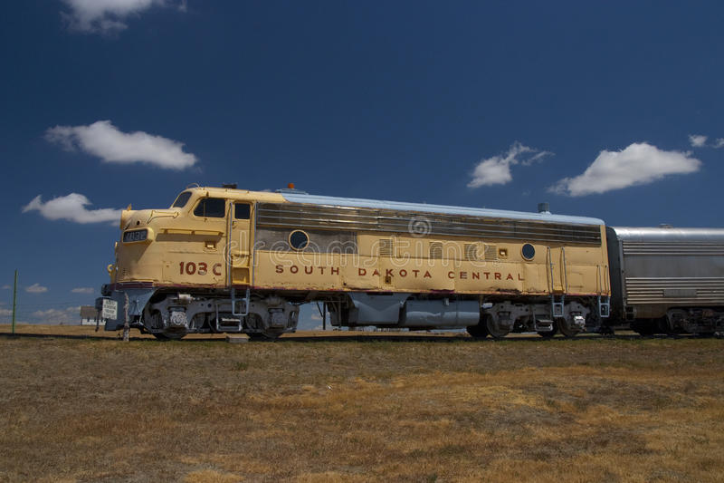 South Dakota Central stock image