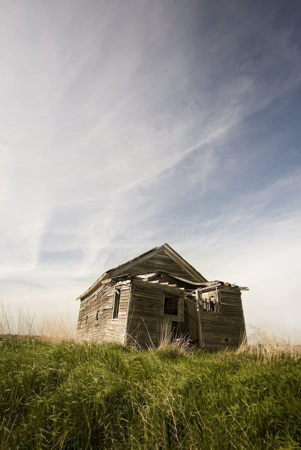 South Dakota Prairie Grassland Homestead royalty free stock image