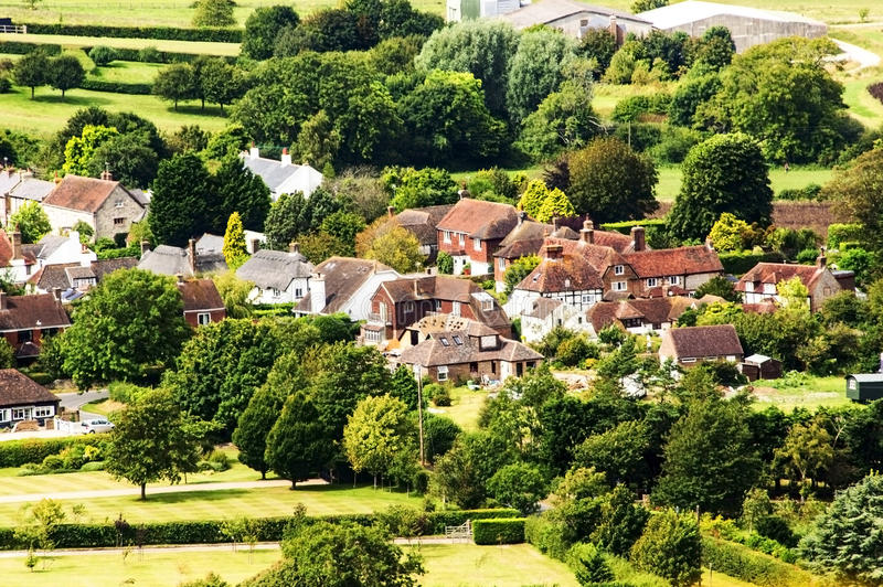 South downs royalty free stock images