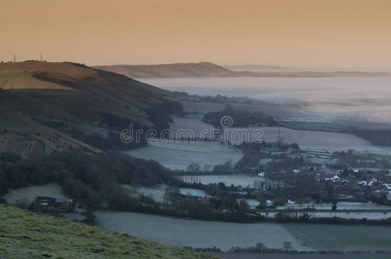 South Downs Sussex stock photography