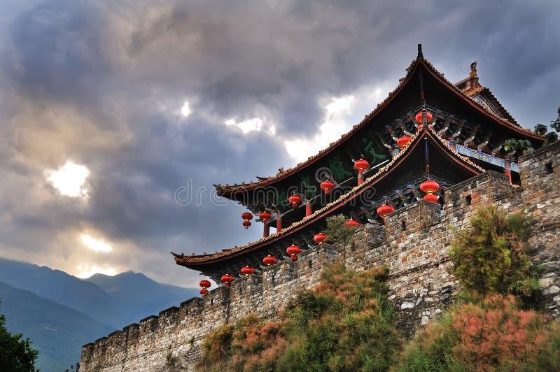 Download South Gate, Dali Ancient City, Yunnan Stock Photo - Image: 24428244