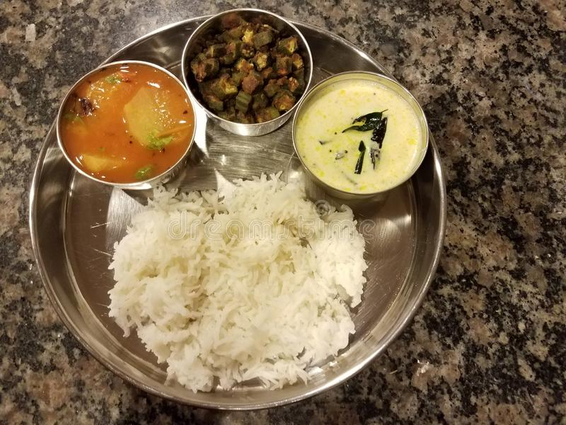 South Indian feast royalty free stock images