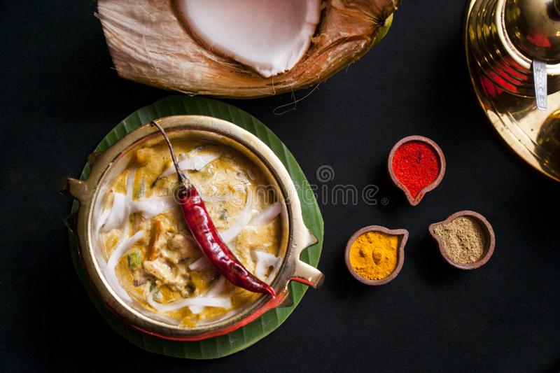 South indian food items stock image