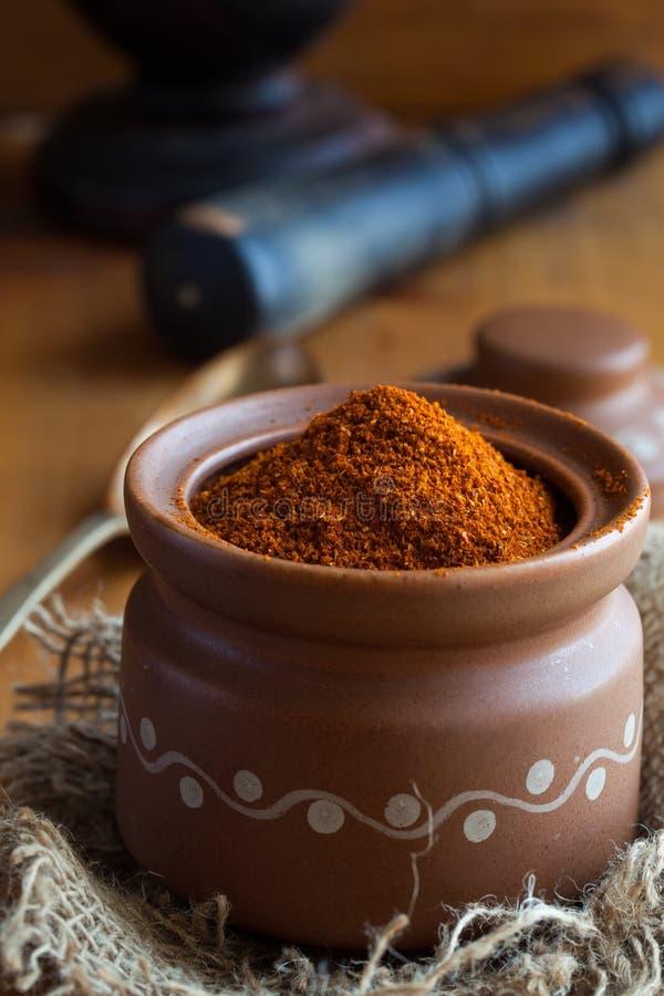 South Indian Rasam powder stock photos