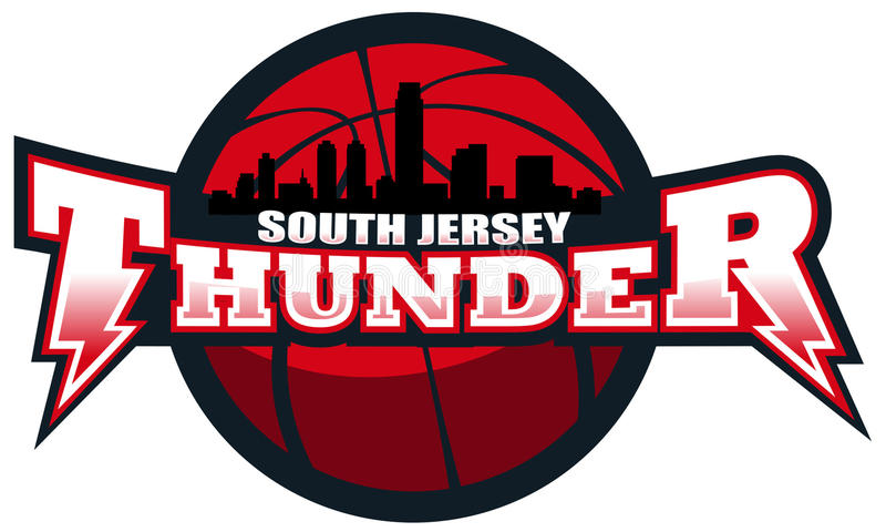 South Jersey Thunder royalty free stock images