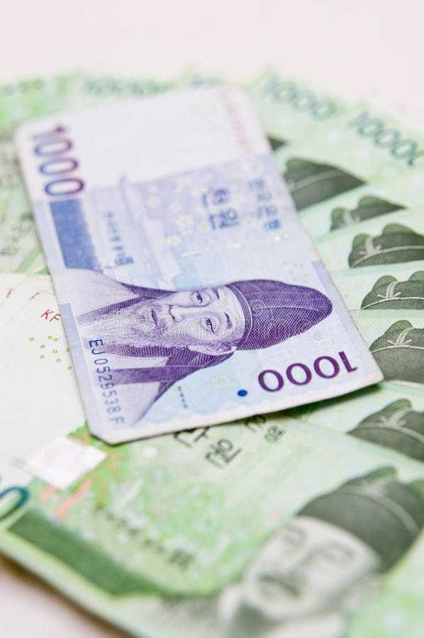 Download South Korea currency stock photo. Image of korea, cash - 15469970