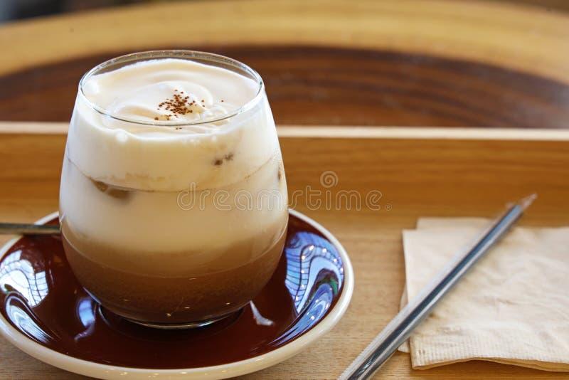 South korean maseok sorebi cafe creamy mocha royalty free stock image