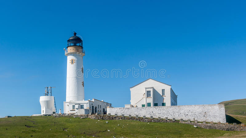 South lighthouse Fair Isle stock photo. Image of tower - 40372690