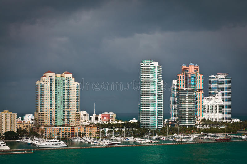 Download South Miami Beach Stock Photo - Image: 83711679