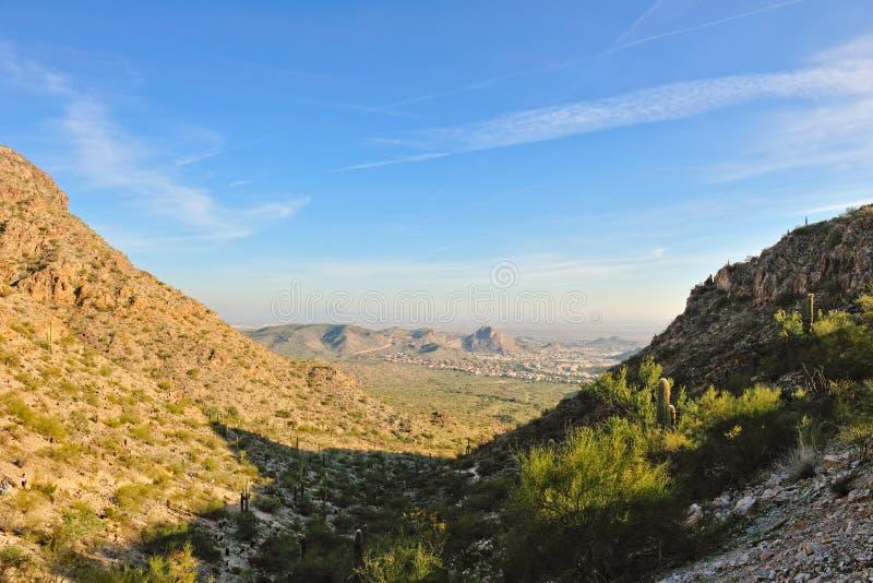 South Mountain scenic Phoenix stock image