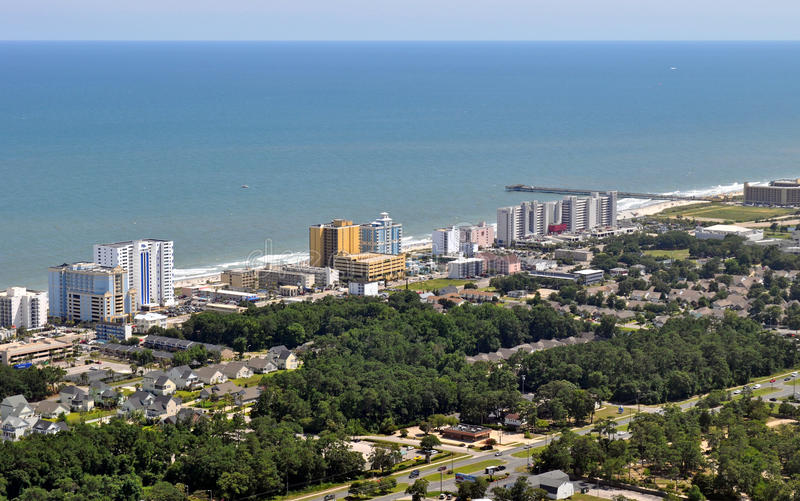 South Myrtle Beach stock image