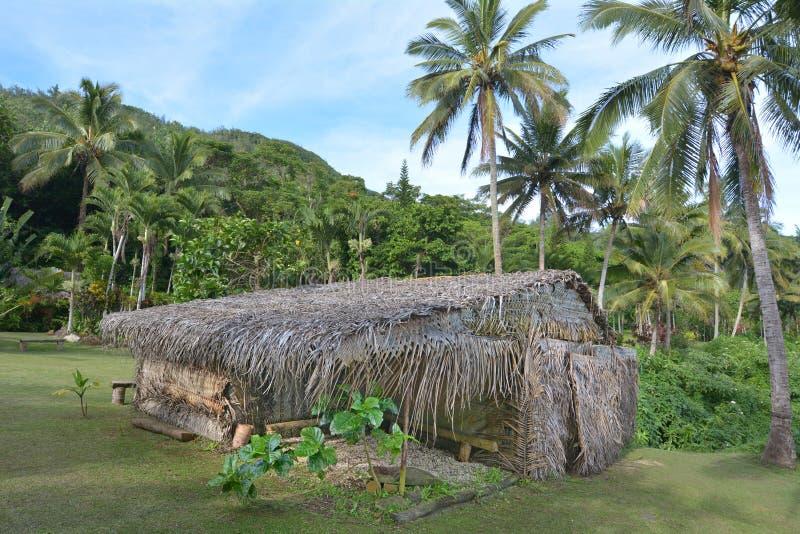 South Pacific Polynesian byRarotonga kock Islands royaltyfria foton