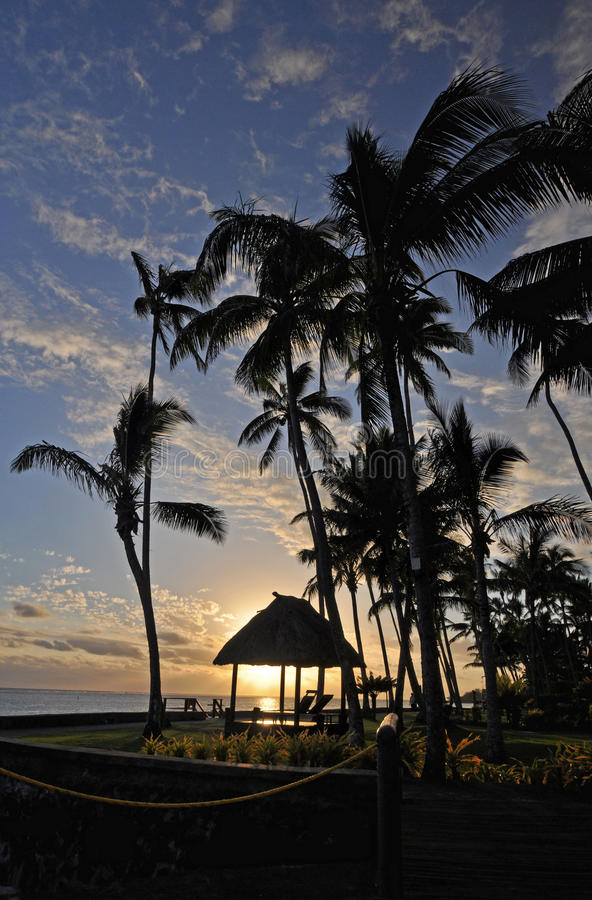 Free South Pacific Sunset Royalty Free Stock Photography - 48841217