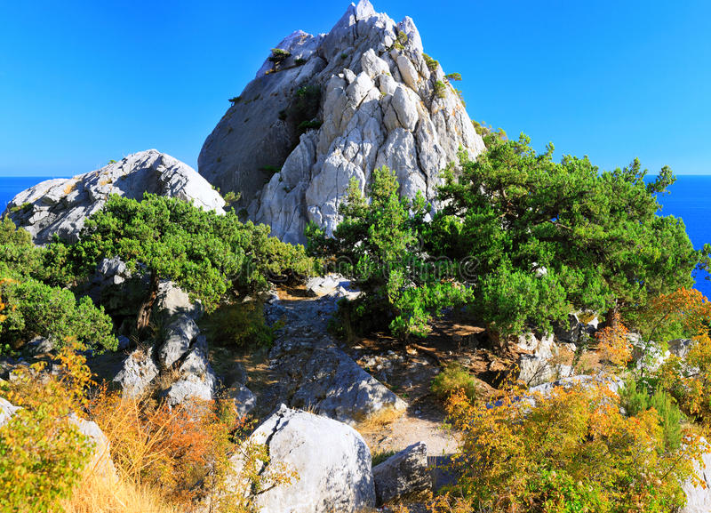 Download South Part Of Crimea Peninsula, Beach   Landscape. Royalty Free Stock Image - Image: 21284716
