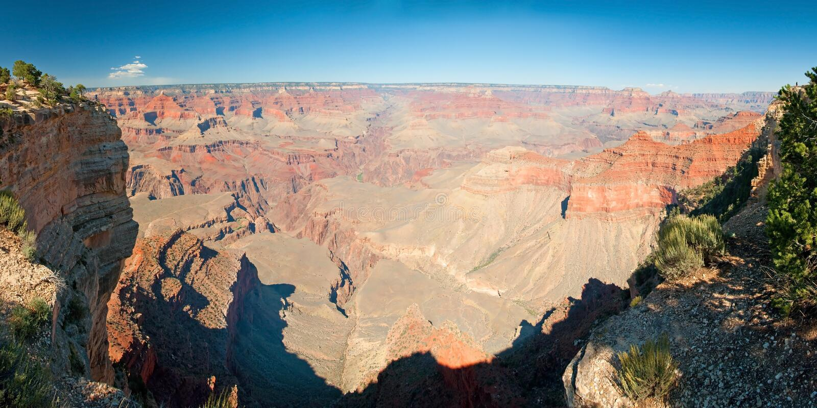 Download South Rim Of Grand Canyon In Arizona Panorama Stock Image - Image of mountain, nature: 31456763