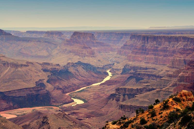 South Rim Grand Canyon, Arizona, US. South Rim Grand Canyon before sunset, Arizona, US royalty free stock photo