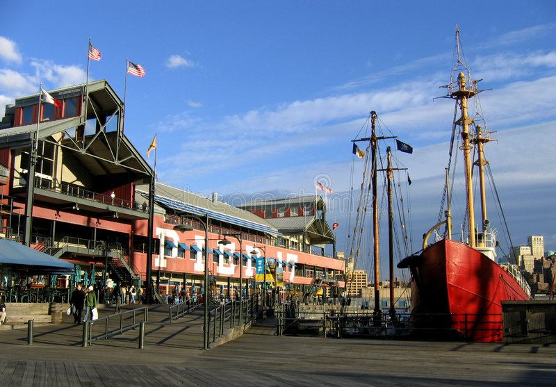 South Seaport stock photography