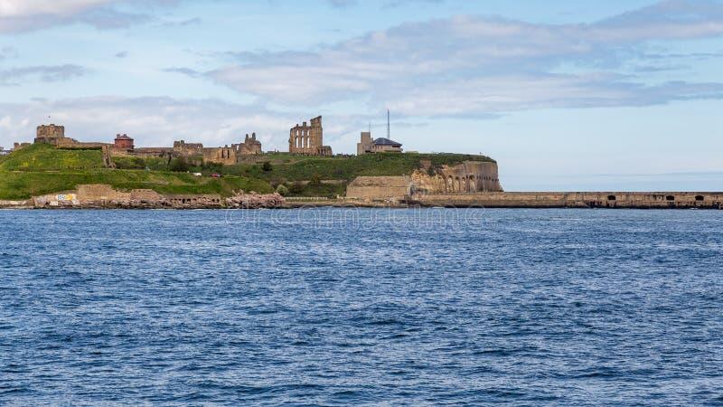 South Shields, Tyne and Wear, UK. South Shields looking at North Shields, Tyne and Wear, UK royalty free stock photos