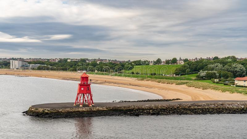 South Shields, Tyne and Wear, Angleterre, R-U images libres de droits