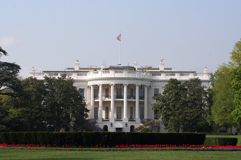 South Side White House Stock Images