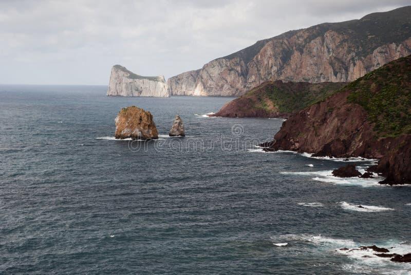 South-western coast of Sardinia royalty free stock image