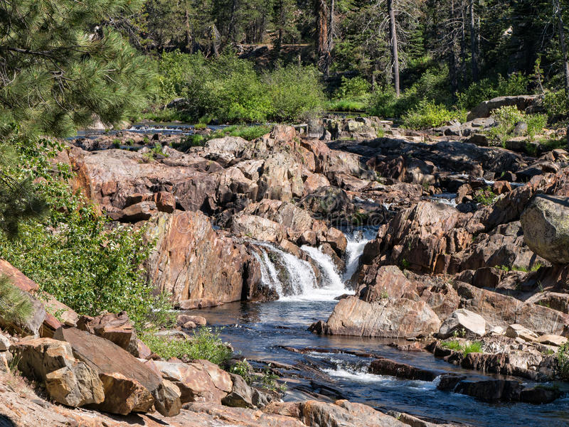 South Yuba River royalty free stock photography