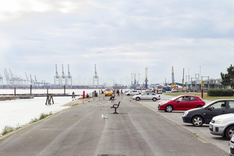 Southampton docks stock photos