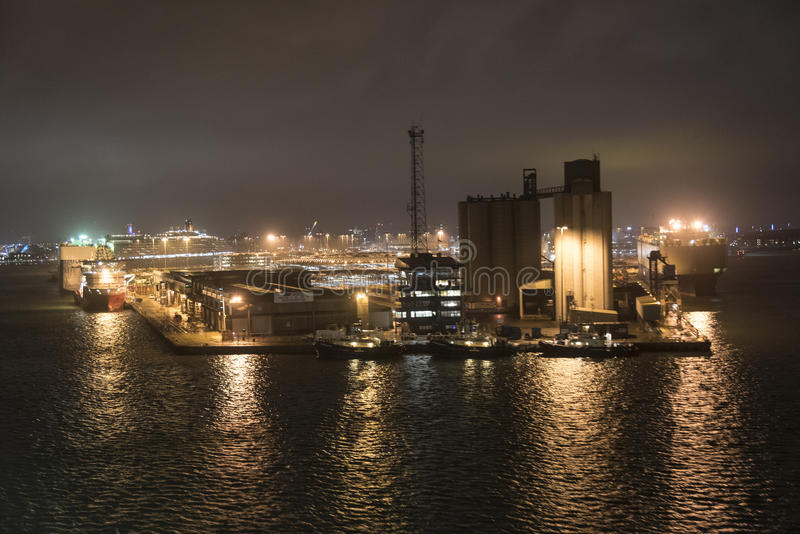 Southampton Docks stock image