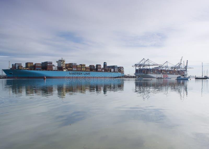 Southampton doki, Hampshire UK fotografia stock
