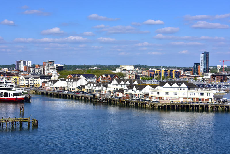 Southampton England royalty free stock photo