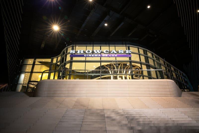 Southampton gablota wystawowa Kino De Luks zdjęcie stock