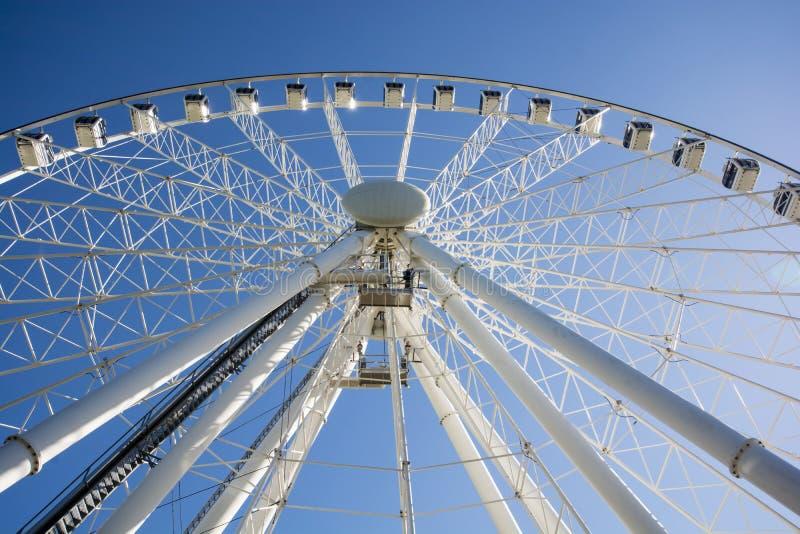 Southbank Ferris Wheel - Brisbane foto de archivo