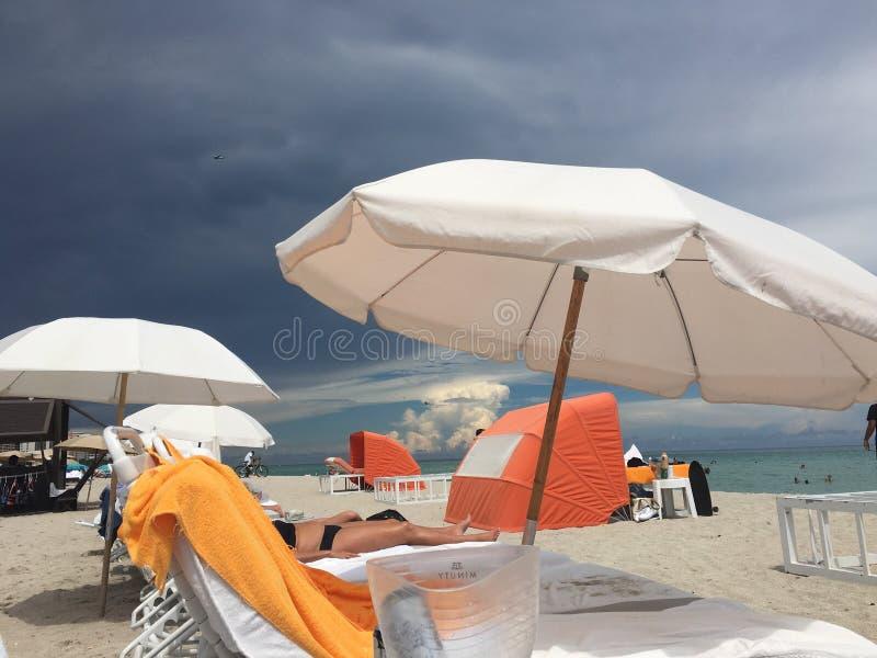 SouthBeach. Miami Beach Florida stock image