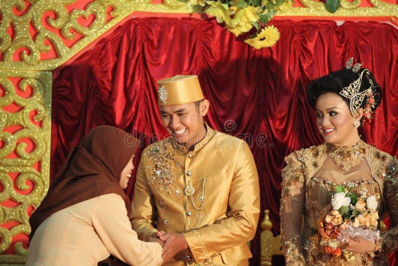 Southeast Asia Wedding Stock Photo