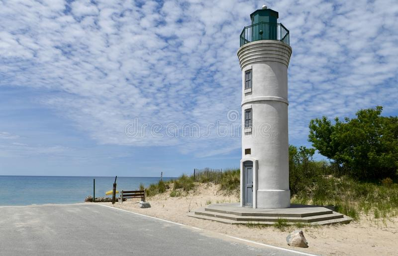 Southeast View of the iconic Manning Memorial Light royalty free stock photo