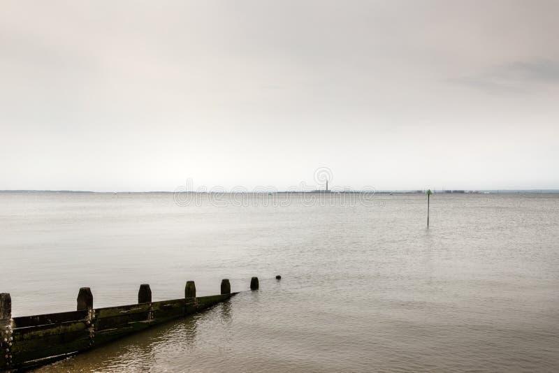 Southend no mar imagens de stock