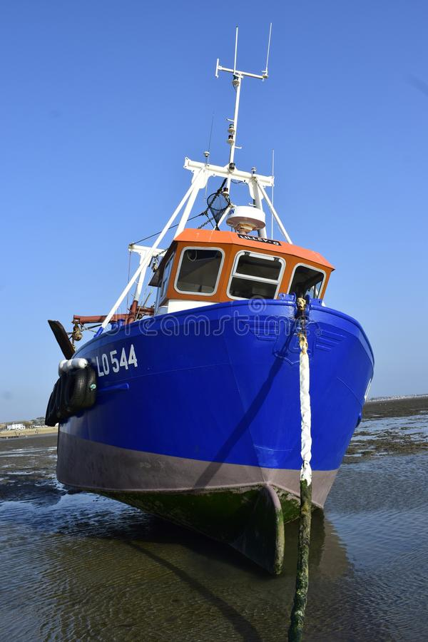 Southend no mar Reino Unido 15/10/2017 Navio velho do abandono imagem de stock
