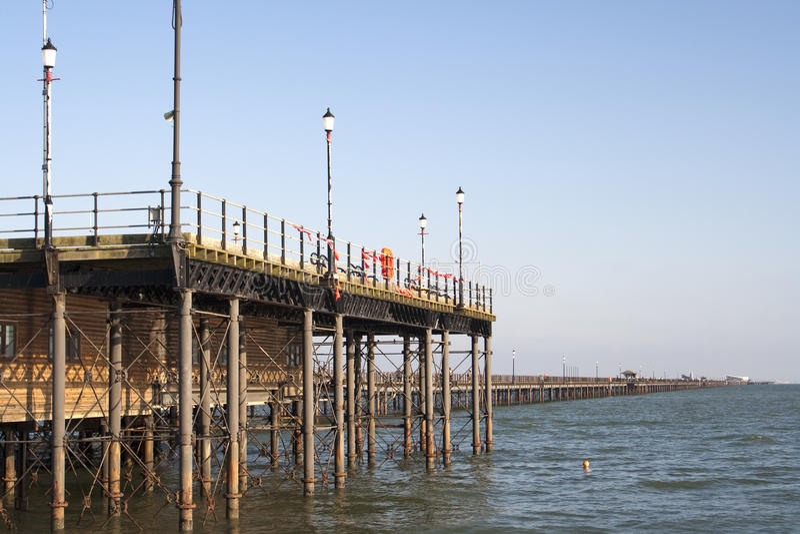 Southend Pier, Essex, England stockfoto