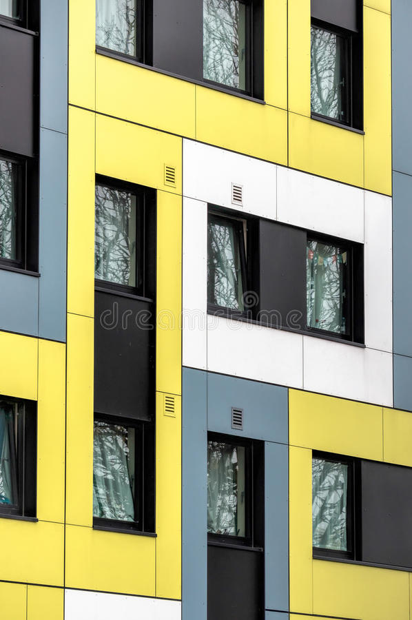 SOUTHEND ON SEA, ESSEX/UK - NOVEMBER 24 : University of Essex's new student accommodation in Southend on Sea Essex on Novem. SOUTHEND ON SEA stock photography