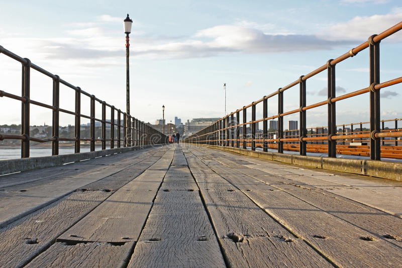 Southend-on-Sea Pier, Essex, England royalty free stock photography