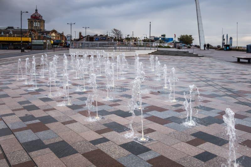 SOUTHEND SUR LA MER, ESSEX/UK - 24 NOVEMBRE : Fontaine sur Southend s photos stock