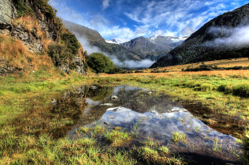 Southern Alps, New Zealand royalty free stock image