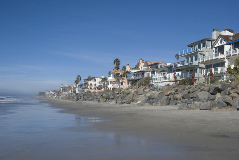 A southern California beach stock photos