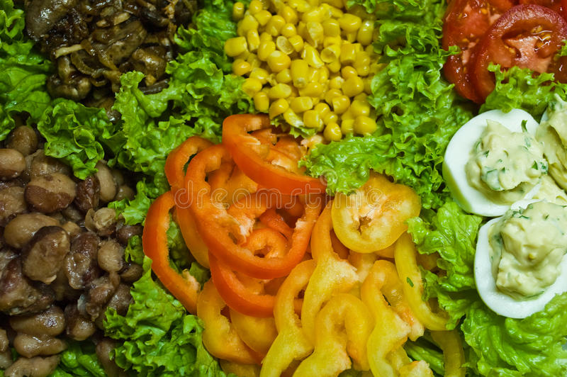 Southern cobb salad royalty free stock images