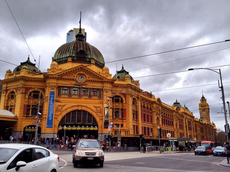 Southern Cross Station royalty free stock images