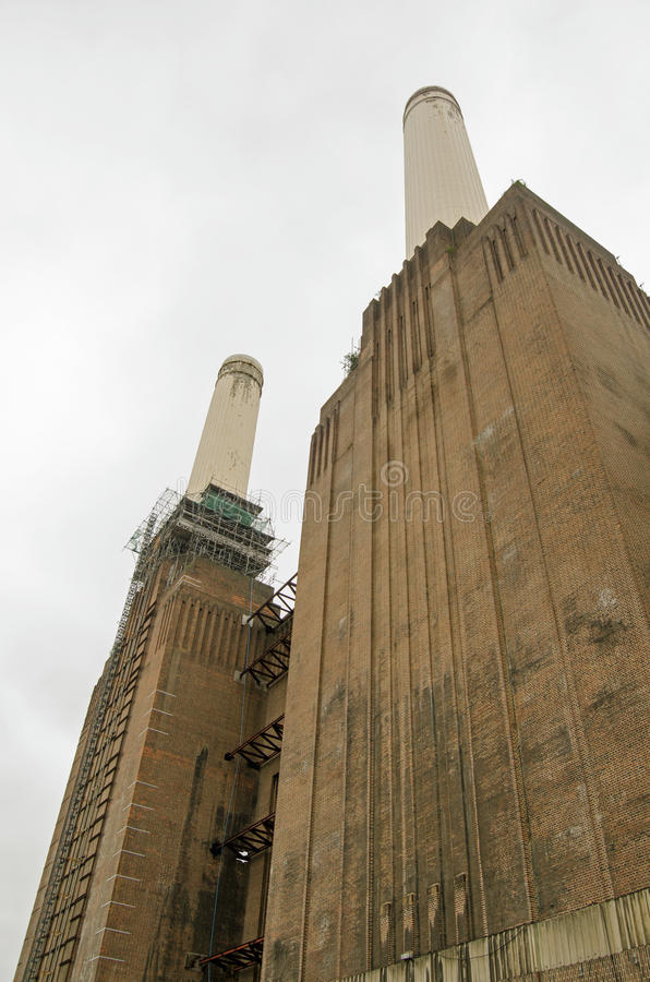 Download Southern Elevation, Battersea Power Station Stock Image - Image: 35146059
