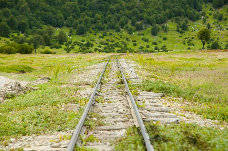 Southern Fuegian Heritage Railway - Tierra Del Fuego - Argentina royalty free stock image