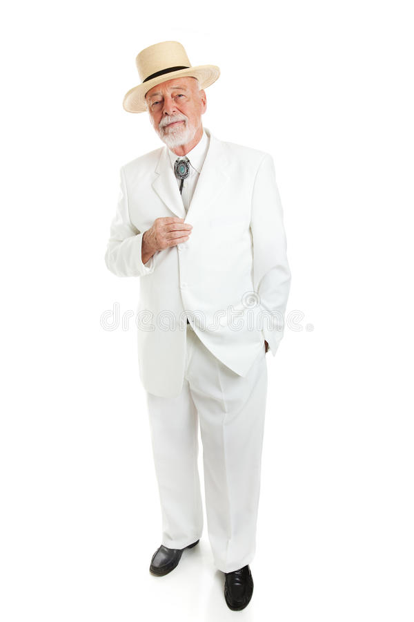 Southern Gentleman Isolated stock images
