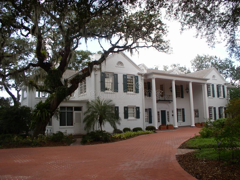 Southern Mansion royalty free stock image
