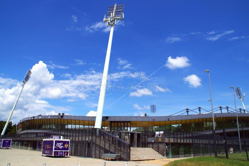 Ljudski Vrt Football Stadion Maribor, Slovenia royalty free stock image